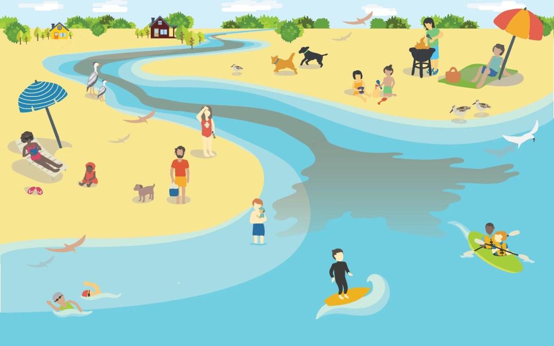 Water Contamination Illustration