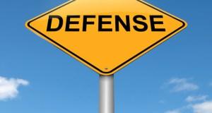 defense sign