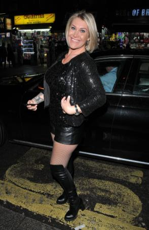 Jo O'Meara at the Jog-On to Cancer annual party, Cafe de Paris, Coventry Street, London, England, UK, on Wednesday 04 April 2018. CAP/CAN ©CAN/Capital Pictures