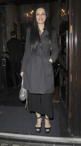 BGUK_1194015 - London, UNITED KINGDOM - Celebrities arrive at the Jog On For Cancer Gala at Cafe de Paris in London, UK. Pictured: Tina Barrett BACKGRID UK 4 APRIL 2018 UK: +44 208 344 2007 / uksales@backgrid.com USA: +1 310 798 9111 / usasales@backgrid.com *UK Clients - Pictures Containing Children Please Pixelate Face Prior To Publication*