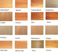Timber types and finishes - MOORE Architecture