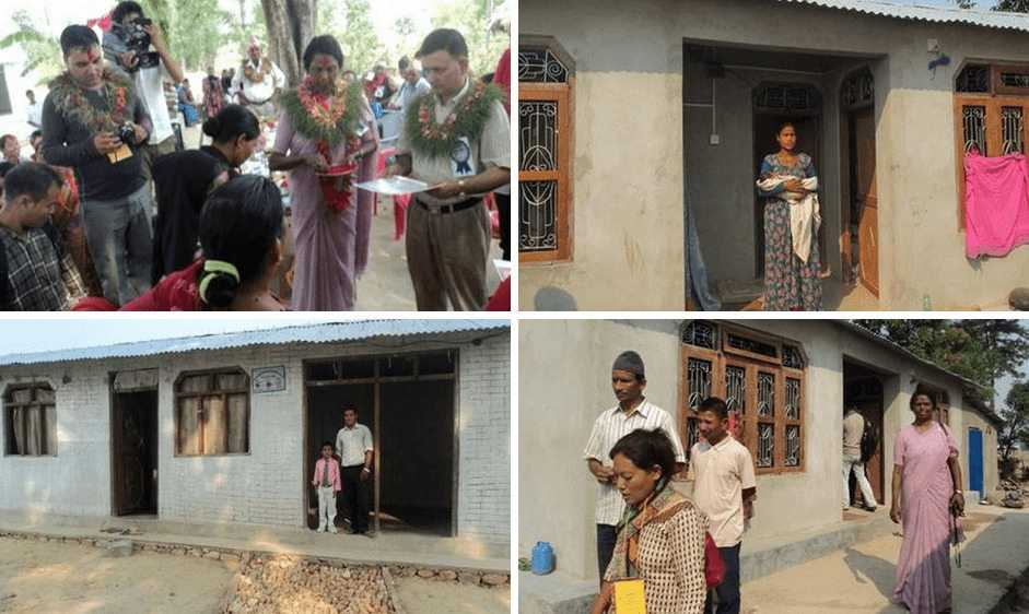 Sisters rehabilitate 49 households in Nepal after 2014 floods