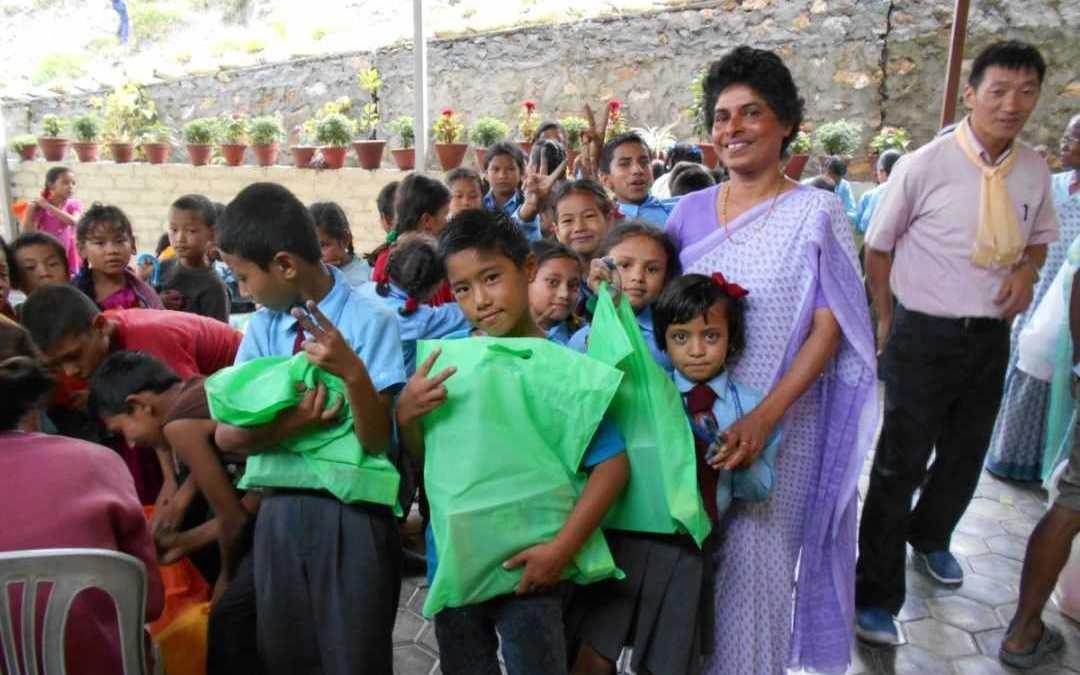 Appreciation day for children in Nepal