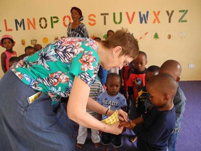 Sister Carole Kaucic in Botswana