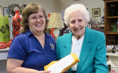 Sisters donate to St. Vincent de Paul