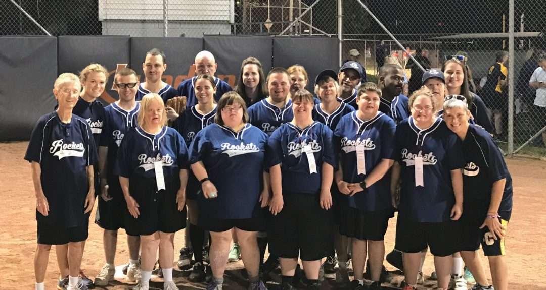 Sister Kitty and the Saint Mary's softball team