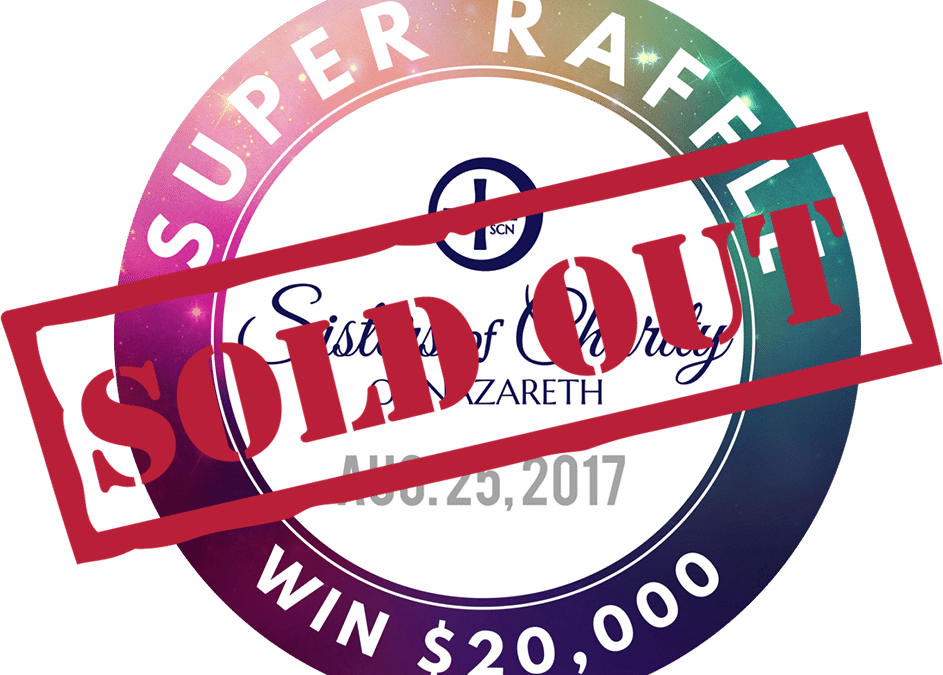 SCN Raffle Sold Out