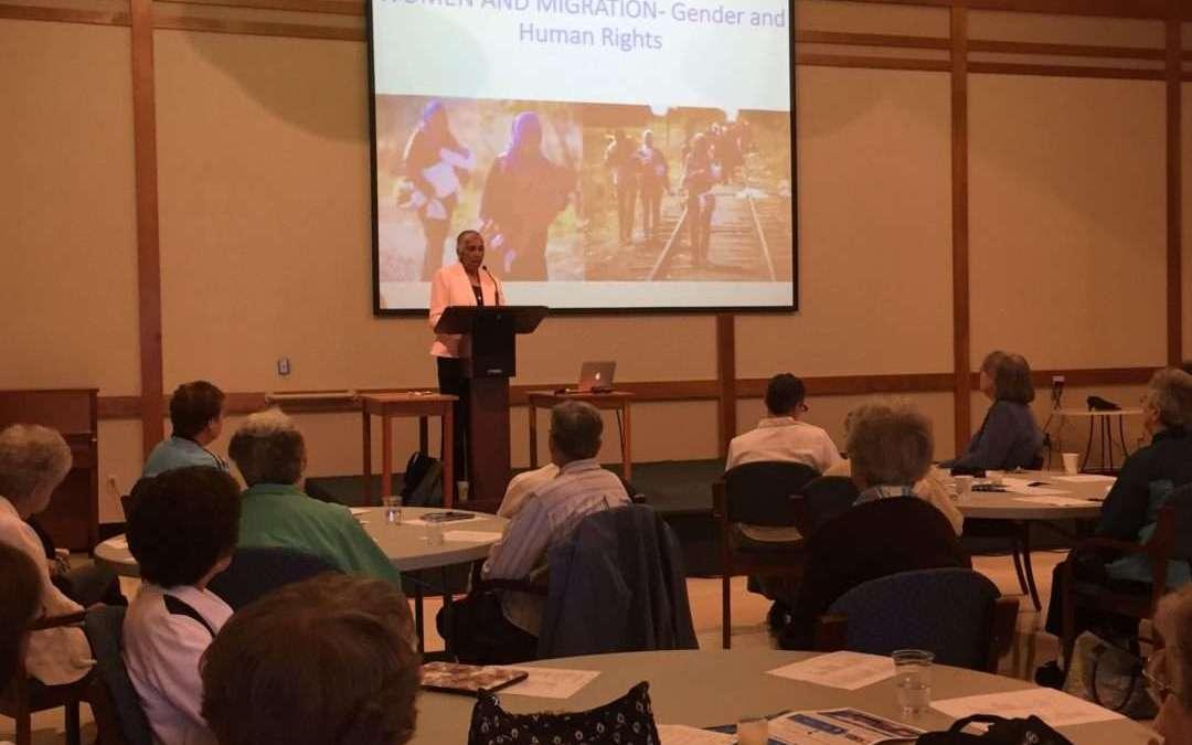 Teresa Kotturan, SCN – Presentation on UN and Migrant and Refugees
