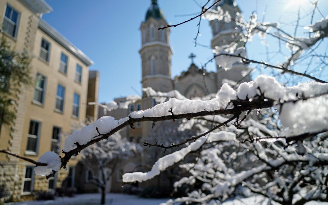March winter storm leaves Nazareth covered in snow