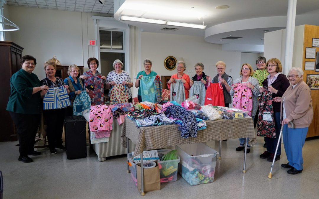 Sewing ministry for Sisters of Charity of Nazareth