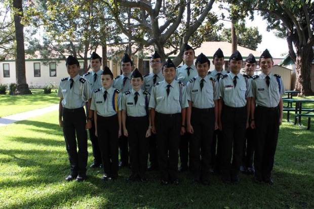 St. Catherine's Academy's drill team was recently honored for its performance at a national competition. (Courtesy of St. Catherine's Academy)