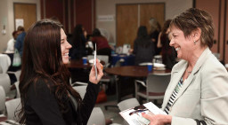 The Careers in Aging event was put on by the Gerontology Program at Cal State Fullerton on April 5. (Photo by Bill Alkofer,Orange County Register/SCNG)