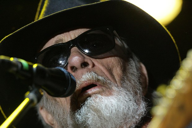 The late Merle Haggard performed on the Palomino Stage at the Stagecoach Country Music Festival in Indio in 2015. Before that he played at the Ink n Iron Fest at the Queen Mary in 2014. (Photo by Terry Pierson, Press Enterprise/SCNG)