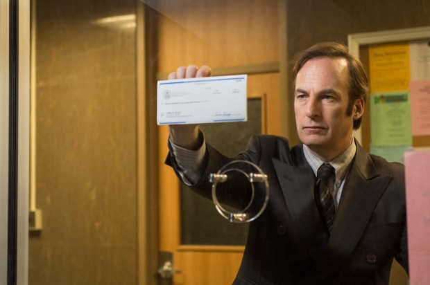 "Bob Odenkirk plays Jimmy McGill in ""Better Call Saul."" Courtesy of AMC"