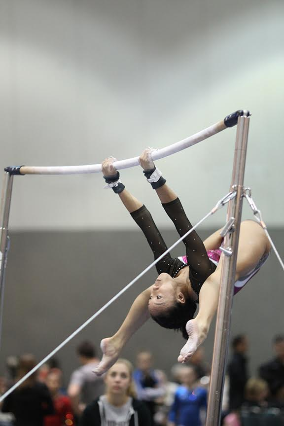 Olympica's Kayli Tran is ready to shine at Western Nationals at the end of April. (Courtesy photo)