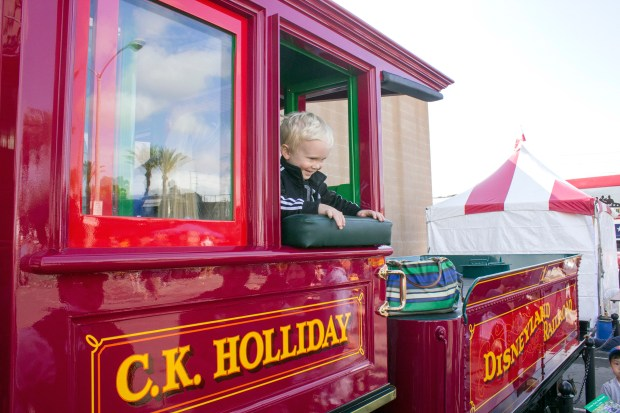 If you get tickets in advance, your kids ages 12 and under can ride Amtrak for free with a paying adult to the downtown Fullerton Railroad Days event coming up May 6-7. (File photo by Mark Eades, Orange County Register/SCNG)//// ADDITIONAL INFORMATION: Fullerton Railroad Days held at the train station in Fullerton, includes model railroads, a Disneyland Railroad engine, a steam locomotive and more. - Date of photo: 04/30/16 - fullertonrrdays -- Photo by: MARK EADES, STAFF PHOTOGRAPHER