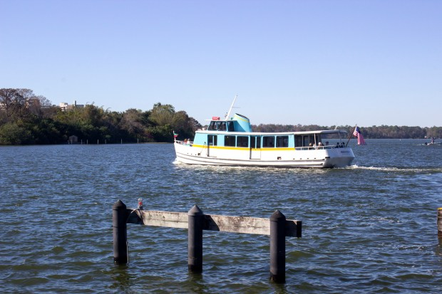 Boats plying the waterways of Walt Disney World are one of several ways that visitors to Walt Disney World can get to the entrance of the Magic Kingdom. (Photo by Mark Eades, Orange County Register/SCNG)