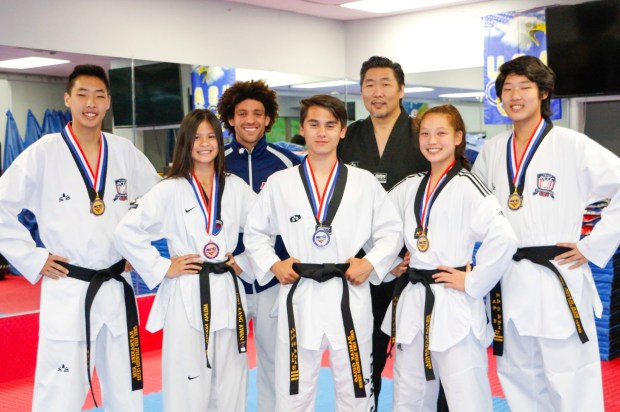 Five south county students medal at taekwondo high school ...