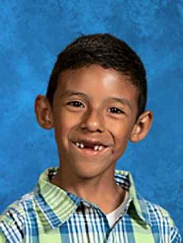 COURTESY PHOTO Jonathan Martinez, 8, was killed in a school shooting on Monday, April 10, 2016, at North Park Elementary School.