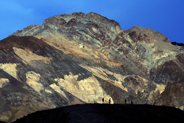 Death Valley National Park holds the record for the hottest place on earth. ORG XMIT: RIV1602191714277242
