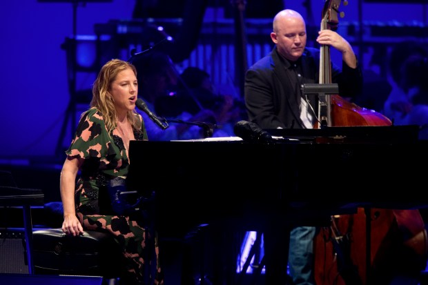 Diana Krall, shown here performing at the Hollywood Bowl in 2015, will return this summer. (File photo by Drew A. Kelley)