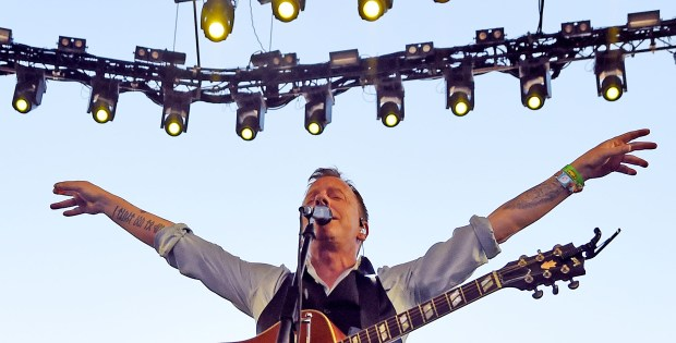 Actor and musician Kiefer Sutherland performs with his band on the Palomino Stage Sunday April 30, 2017 on the closing day of the Stagecoach Country Music Festival at the Empire Polo Club in Indio. (Photo by Will Lester-Inland Valley Daily Bulletin/SCNG)