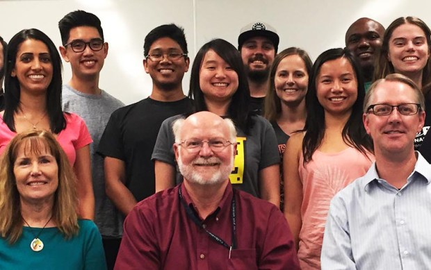 """Pprofessors, from left, Ruth Yopp-Edwards, Martin V. Bonsangue and Mark Ellis are directing the project """"Advancing Teachers of Mathematics to Advance Learning for All."""" (Photo courtesy of Cal State Fullerton)"""