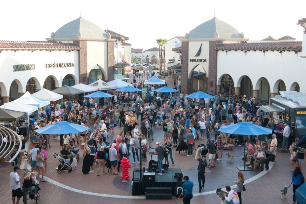 You can save big at the Outlets in San Clemente over Memorial Day weekend. (Photo by Jeff Antenore, contributing writer)