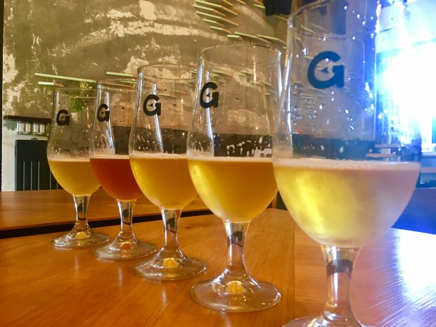 Gunwhale Ales specializes in Belgian style ales. (Nancy Luna, Orange County Register/SCNG)