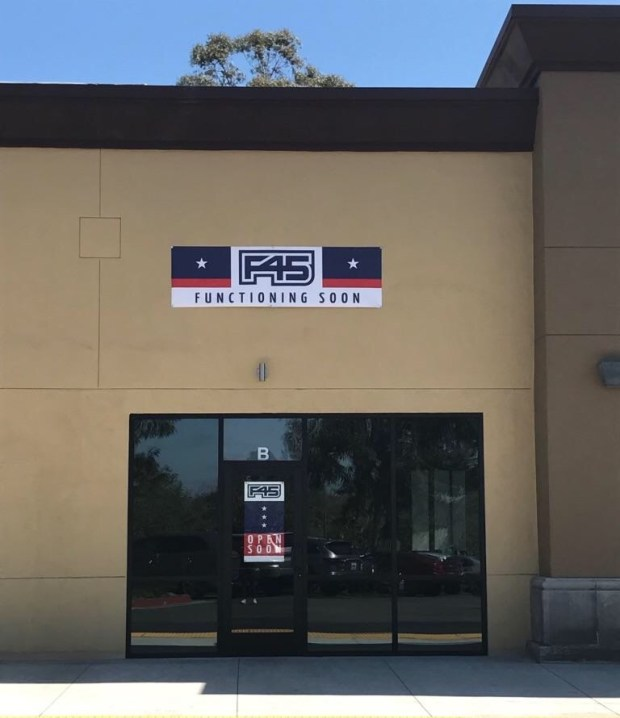 F45 fitness studio will open in Rancho Santa Margarita June 3. (Photo courtesy of F45)