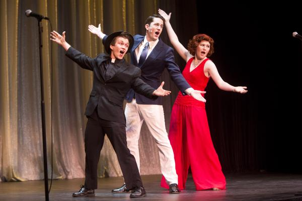 "Mission Viejo High School performs in an excerpt of ""Anything Goes"" during the JRAY Awards in 2014. (File photo by Drew A. Kelley, contributing photographer)"