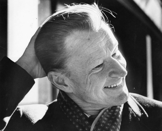 In January 1977, Zbigniew Brzezinski, a member of President Jimmy Carter's Cabinet, poses for a portrait at the Madison Hotel in Washington, D.C. Washington Post photo by James A. Parcell