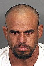 Alejandro Parra De La Riva, 29, of Thermal, was arrested on suspicion of assault on a peace officer and assault with a deadly weapon causing bodily injury to a peace officer on May 5, 2017. (Courtesy of Riverside County Sheriff's Department)
