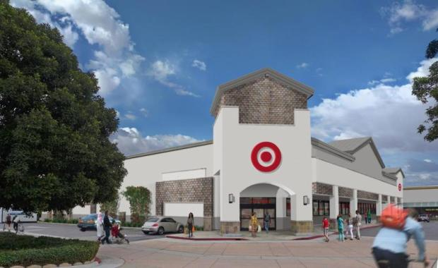 A rendering of the small-format Target that's coming to a former Ralph's in Orange on Chapman Avenue. (Image courtesy of Target)