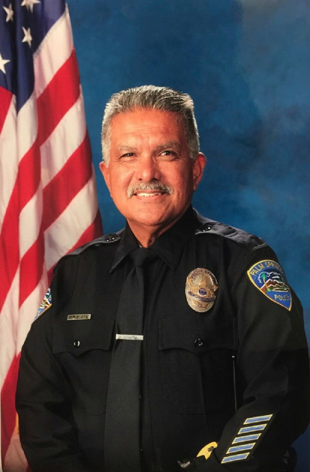 "Palm Springs police Officer Jose ""Gil"" Vega. (Photo courtesy of Palm Springs Police Department)"