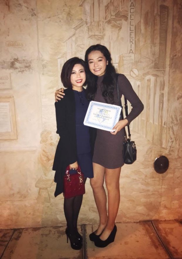 Melanie Chambraud, right, credits her mother, Jenny Vu, with bringing her to the United States for her education and for being an inspiration. PHOTO COURTESY MELANIE CHAMBRAUD