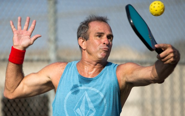Huntington Beach will play host to the best Pickleball players in Southern California, Aug. 4-6, at Murdy Park. (File photo by Josh Barber, The Orange County Register/SCNG)