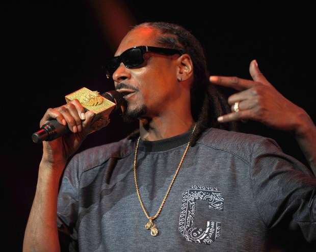 Rapper Snoop Dogg is just one of the numerous artists performing during the BET Experience ticketed events at Staples Center. Other performers include DJ Khaled, Bryson Tiller, Wiz Khalifa, Pusha T, Desiigner, A$AP Rocky, Gucci Mane and many more. (Photo by Kelly A. Swift, contributing photographer)