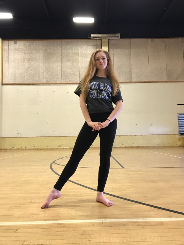 Cassandra Bangle, CanyonIrvine Valley College: theatre arts, undeclared major; dance, undeclared minor (Photo courtesy of Cassandra Bangle)