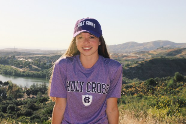 Bianca Tatum, Santa Margarita CatholicCollege of the Holy Cross: undecided (Photo courtesy of Bianca Tatum)