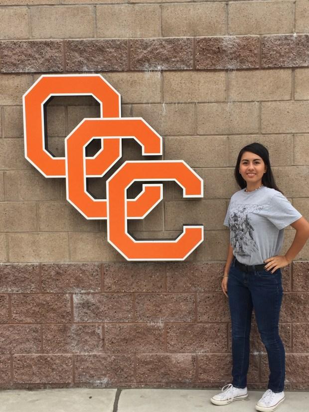 Kristina Camberos, EdisonOrange Coast College: undecided (Photo courtesy of Kristina Camberos)