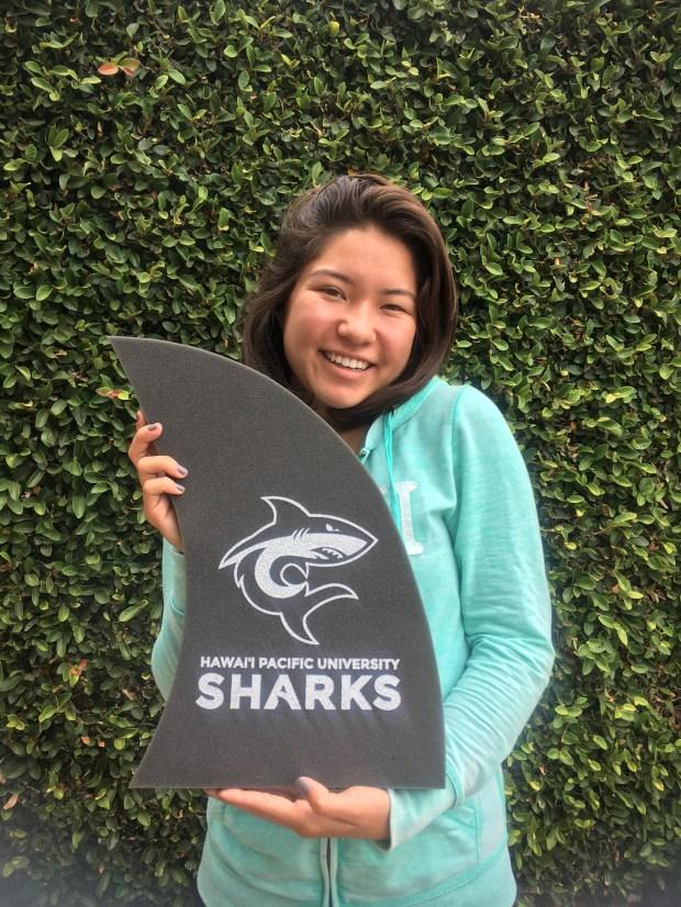 Sally Chew, El DoradoHawai'i Pacific University: marine biology (Photo courtesy of Sally Chew)