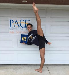 Kyle Schrader, EdisonPace University: commercial dance major; business, minor (Photo courtesy of Kyle Schrader)