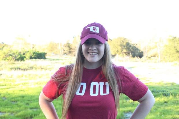 Emma Will, TesoroUniversity of Oklahoma: music (performance) and German (Photo courtesy of Emma Will)