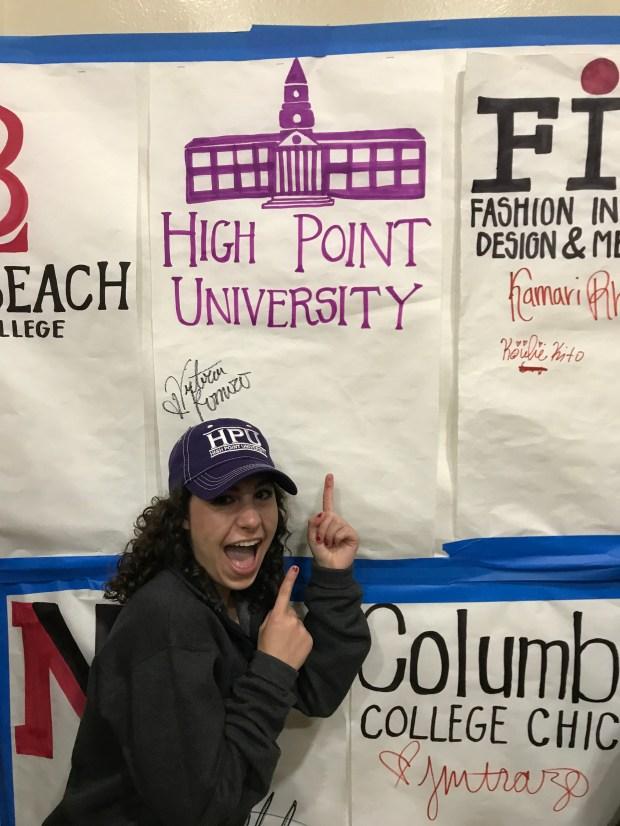 Victoria Romero, Huntington BeachHigh Point University: communication major; women and gender studies, minor (Photo courtesy of Victoria Romero)
