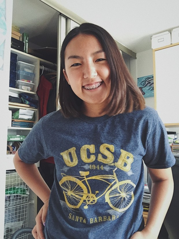 Vonnie Wei, NorthwoodUC Santa Barbara: political science major; music, undeclared minor (Photo courtesy of Vonnie Wei)