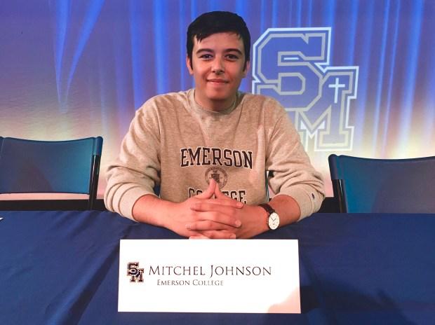 Mitchel Johnson, Santa Margarita CatholicEmerson College: visual and media arts (production) (Photo courtesy of Mitchel Johnson)