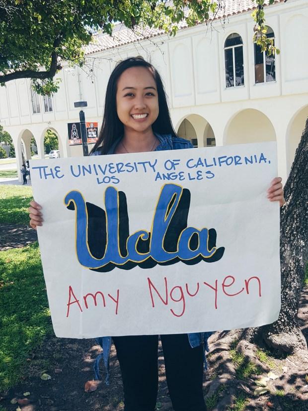 Amy Nguyen, Huntington BeachUCLA: psychobiology (Photo courtesy of Amy Nguyen)