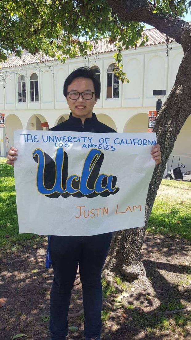 Justin Lam, Huntington BeachUCLA: mechanical engineering (Photo courtesy of Justin Lam)