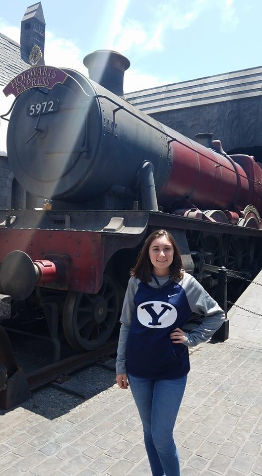 Rosie Morreale, Laguna BeachBrigham Young University: elementary education major; music, minor (Photo courtesy of Rosie Morreale)